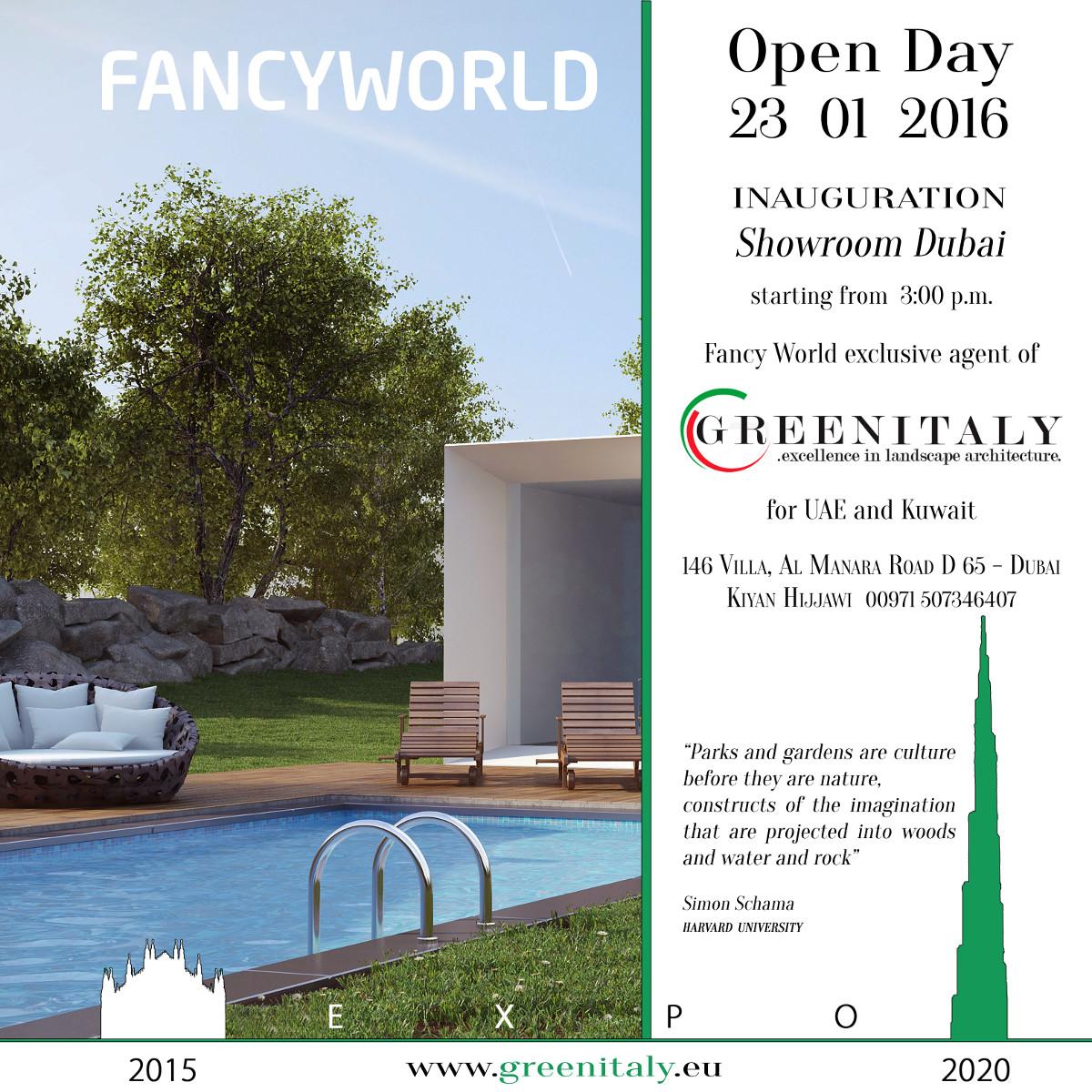 invito inaugurazione greenitaly